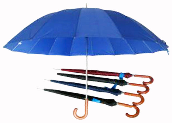 "#B112-1220C Heavy Duty 60"" Umbrella Assorted (case pack 24 pcs)"