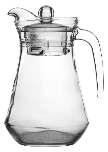 #B169-501902 Glass Pitcher with Lid 1.32 L (case pack 12 pcs)