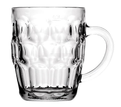 #B194-502191 Glass Handled Mug (case pack 24 pcs)