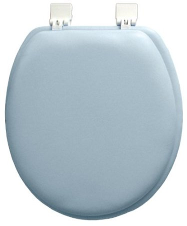 #B260-BLU-KY04X Plain Soft Toilet Seat - Blue (case pack 6 pcs)