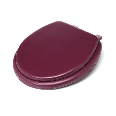 #B260-BUR-KY08X Plain Soft Toilet Seat - Burgundy (case pack 6 pcs)