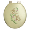 #B261-BON-T13 Embroidery Soft Toilet Seat - Bone (case pack 6 pcs)
