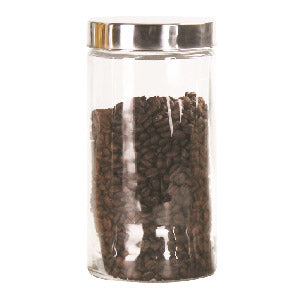 #B951-010-2 Round Glass Jar 1700 ml/ 58 oz (case pack 12 pcs)