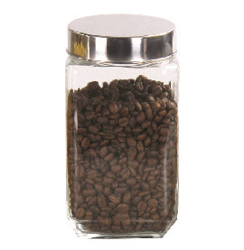 #B952-014-2 Square Glass Jar 1700 ml/ 58 oz (case pack 12 pcs)