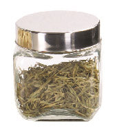#B952-014-4 Square Glass Jar 800 ml/ 27 oz (case pack 24 pcs)
