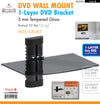 #EM2284 DVD Wall Mount 1-Layer Bracket Rack (case pack 6 pcs)