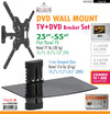 #EM2286 TV & DVD Wall Mount Combo Set (case pack 4 pcs)