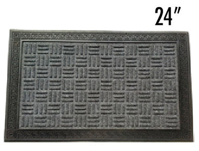 "#IND-2010 PP Grill Door Mat Rectangular 16"" x 24"" (case pack 10 pcs)"