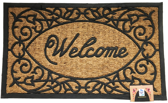 "#IND-2080 Coir Door Mat Rectangular 18""x30"" (case pack 10 pcs)"