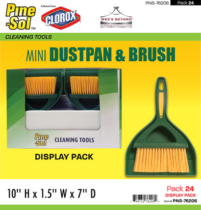 #PNS-76206 Pine-Sol Mini Dustpan & Brush (case pack 24 pcs)