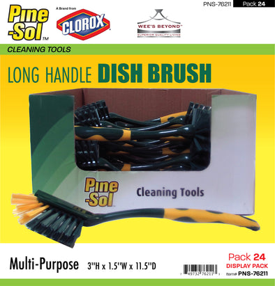 #PNS-76211 Pine-Sol Long Handle Dish Brush (case pack 24 pcs)
