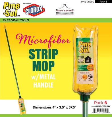 #PNS-76250 Pine-Sol Microfiber Strip Mop (case pack 6 pcs)