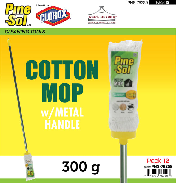 #PNS-76259 Pine-Sol Cotton Mop (case pack 6 pcs)