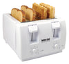 #RIM-241W Four-slice Toaster - White (case pack 4 pcs)