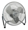 "#RIM-709V Chrome High Velocity 9"" Fan (case pack 6 pcs)"