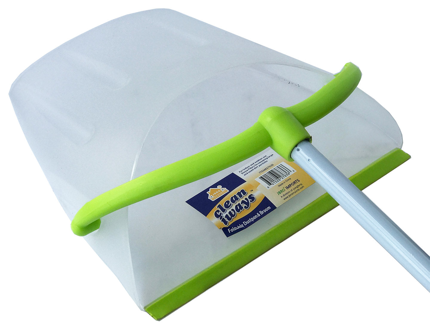 Y-27636 Broom and Foldable Dustpan Set (case pack 24 pcs) – WEE\'S ...