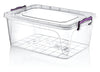 #W02-1104-20LT Multi Rectangle 20 LT Storage Box (case pack 12 pcs)