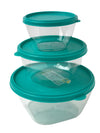 #W02-1151 Smarties Round Storage Bowl 3-pc Set (case pack 24 pcs)