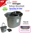 #W08-1190 Wringer Mop Bucket (case pack 12 pcs)