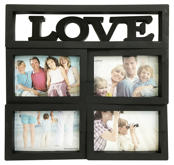 #W26504 Love Collage Picture Frame - Asst Colors