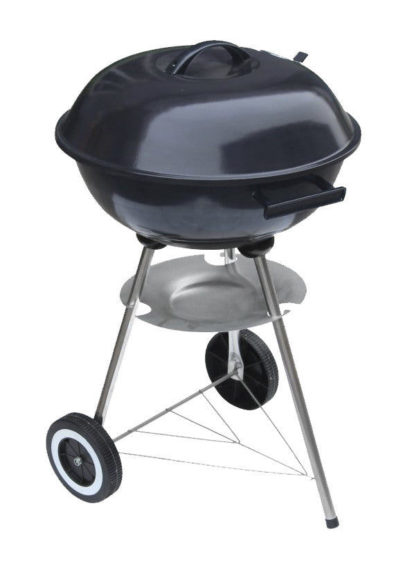 "#9911-17 Wee's Beyond BBQ Charcoal Grill 17"" Round - Black (case pack 1 pc)"