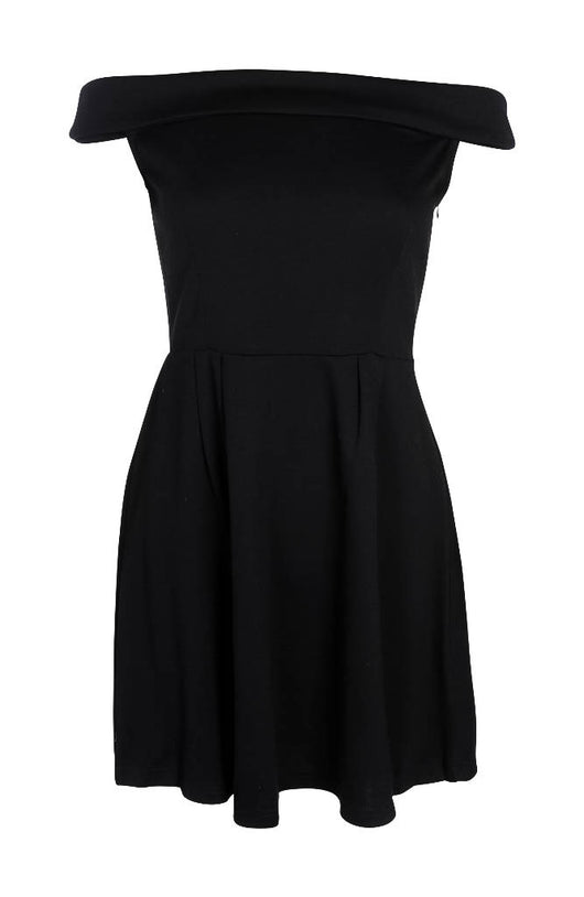 Off Shoulder High Waist Dress