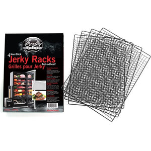 Bradley Set of 4 Non-Stick Jerky Racks