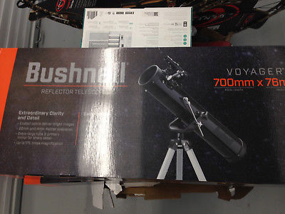 Beginners Bushnell Voyager Skytour Reflector Telescope real-time audio Sky Tour guide