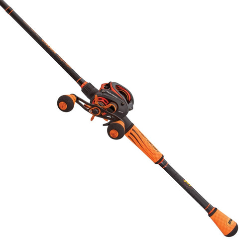 Image of Lews Mach Crush SLP Baitcast Rod Reel Combo Super Low Profile