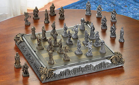 Image of Medieval Chess Set