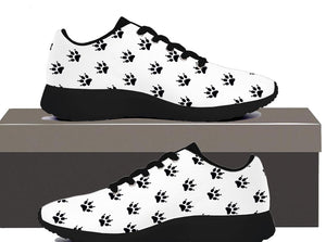 Cat Paw Print - Womens Sneakers