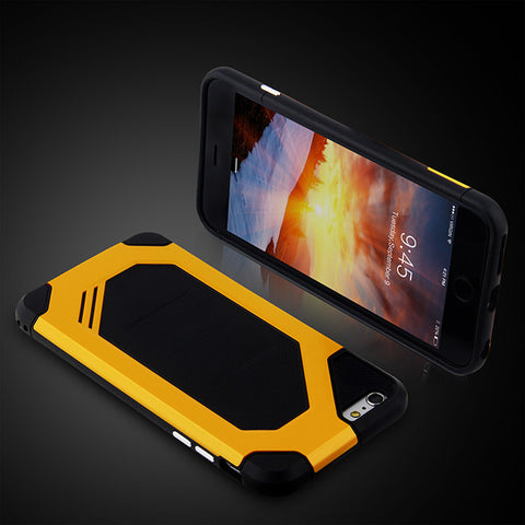 Heavy Duty Slim Durable Phone Case For iPhone Dual Layer Anti-Knock Armor