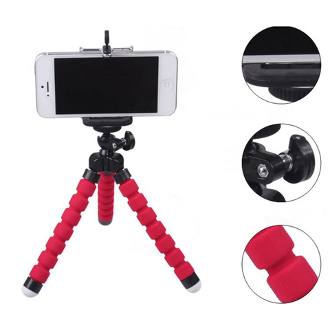 Flexible Octopus Tripod Bracket Selfie Stand