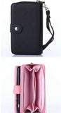 Luxury 2in1 Mobile Phone Zipper Wallet Leather Case