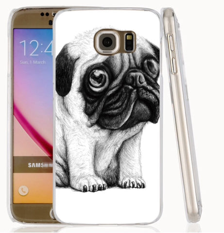 Big Eyed Pug cell phone case for Samsung Galaxy