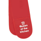queen of the kitchen oven gloves