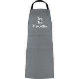 Try try try-a-gin apron