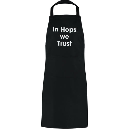In Hops we Trust apron