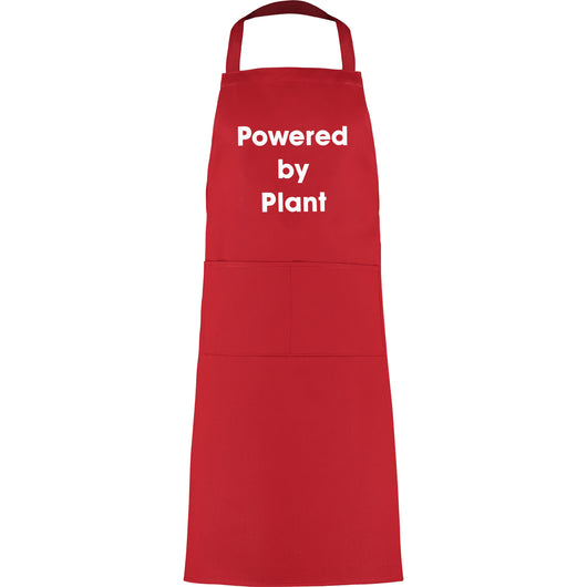 Powered by Plant apron