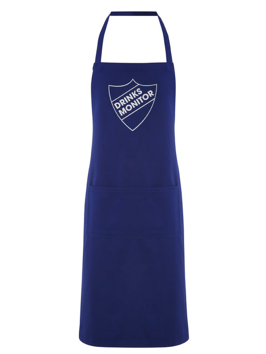 drinks monitor apron