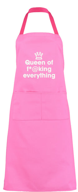 queen of f*@king everything apron