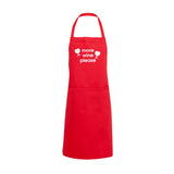 more wine please apron