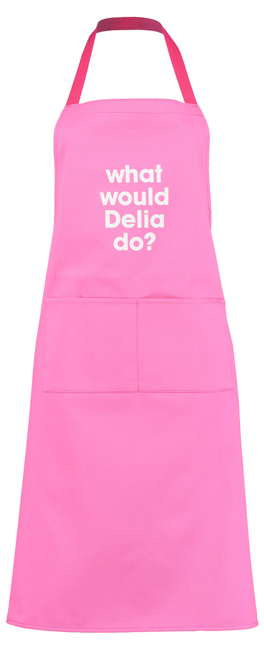 what would Delia do? apron