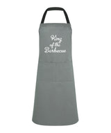 king of the barbecue apron