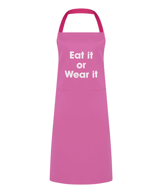 eat it or wear it apron