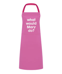 what would Mary do? apron