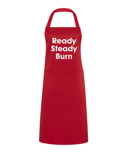 ready steady burn apron