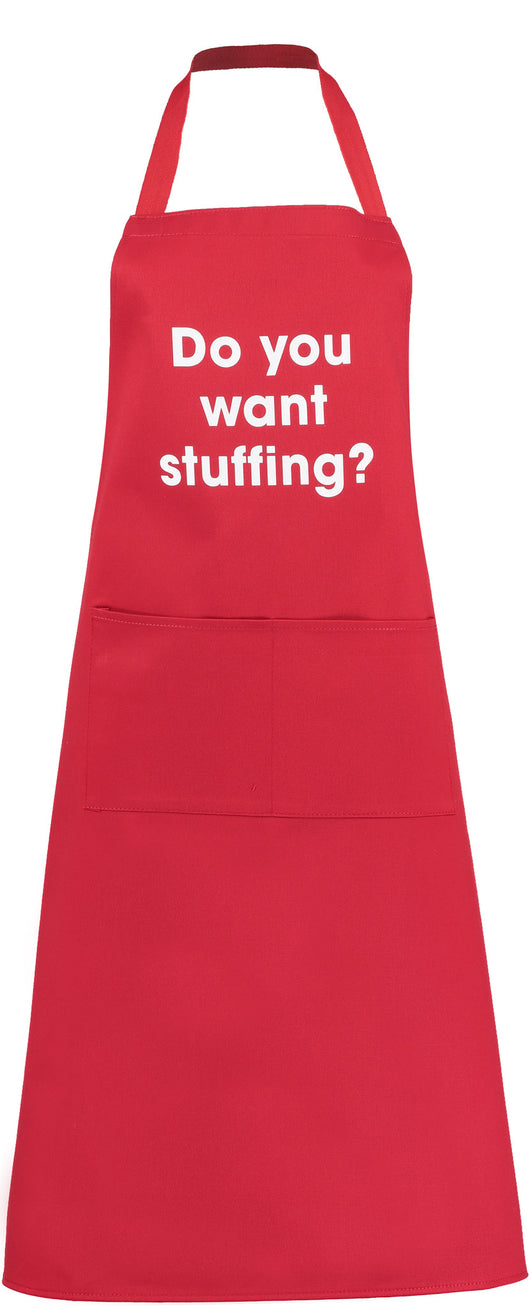 do you want stuffing? apron