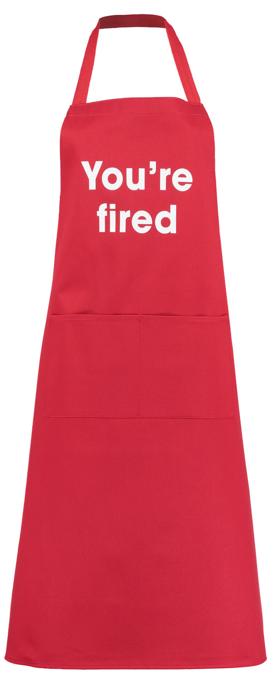 you're fired! apron