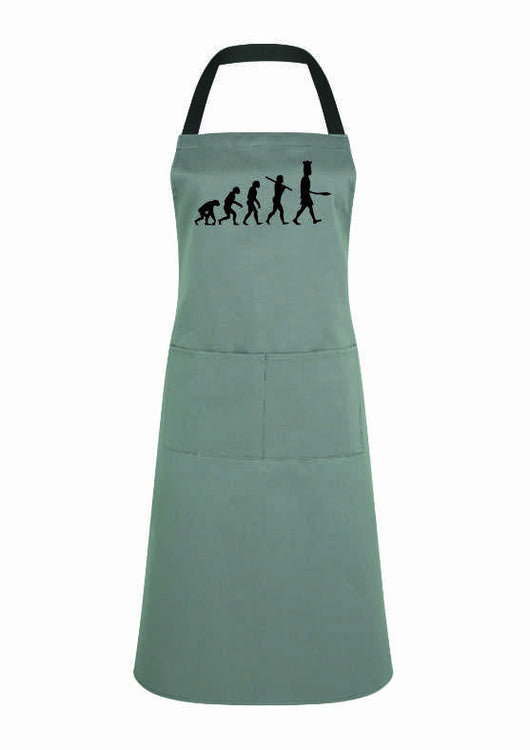 Evolution of Chef apron